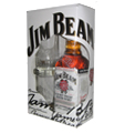 Jim Beam dárkové balení 0,7l 40%