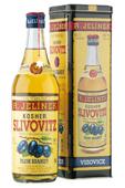 Jelínek Slivovice Kosher zlatá 5-ti letá 0,7l 50%